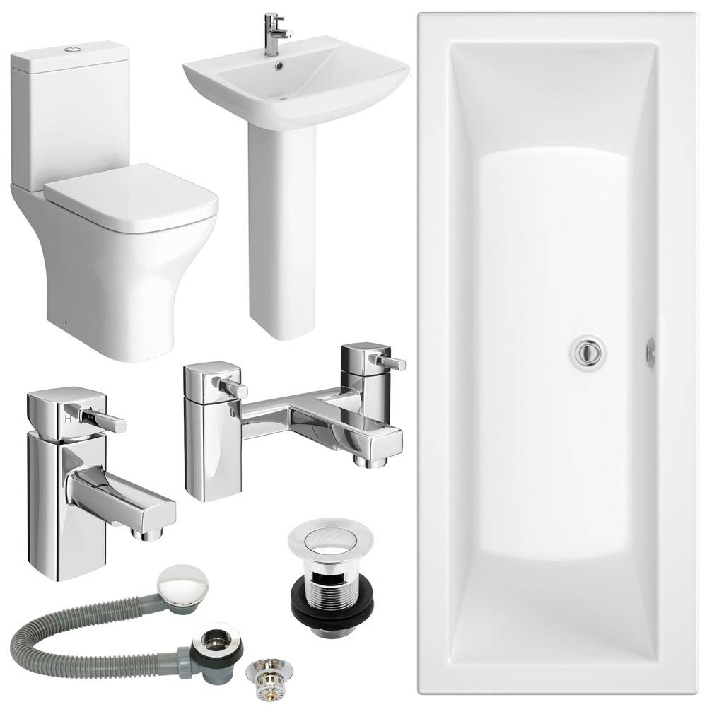 Venice Complete Bathroom Suite Package Large Image