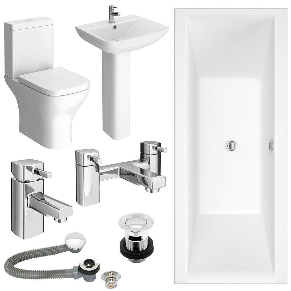 Venice Complete Bathroom Suite Package At Victorian Plumbing Uk