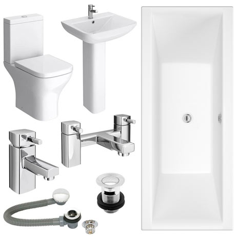 Venice Complete Bathroom Suite Package