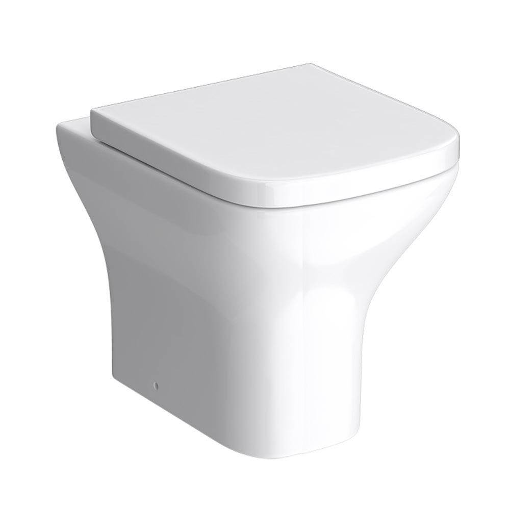 Venice Modern Back To Wall Pan with Soft Close Seat Large Image