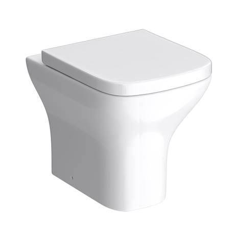 Venice Modern Back To Wall Pan with Soft Close Seat