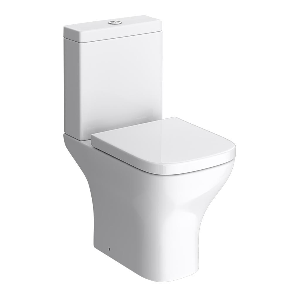 Venice Modern Toilet with Soft Close Seat Large Image