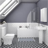 Venice Small 5-Piece Bathroom Suite profile small image view 1