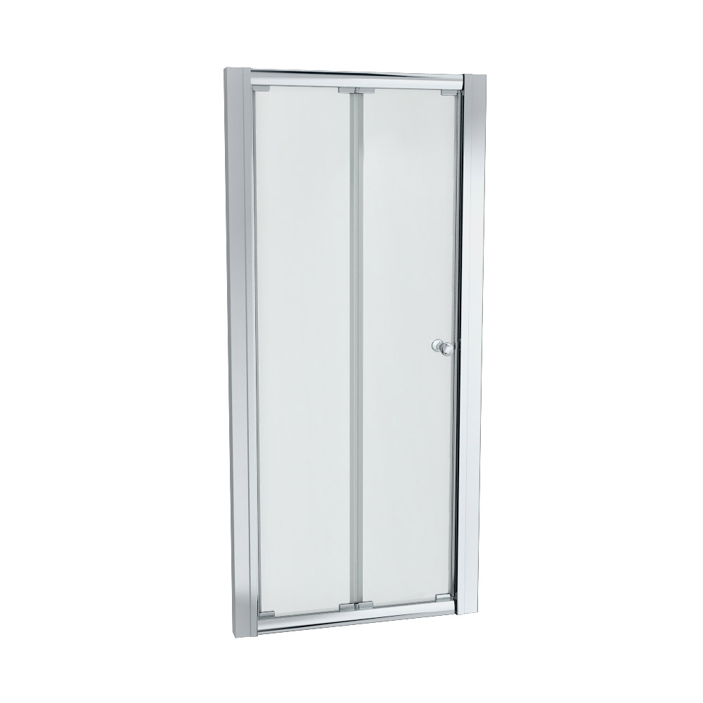 Ventura Bi-Folding Shower Door - Various Sizes (Height - 1850mm) Profile Large Image
