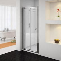 Newark Bi-Folding Shower Door - Various Sizes (Height - 1850mm) Medium Image