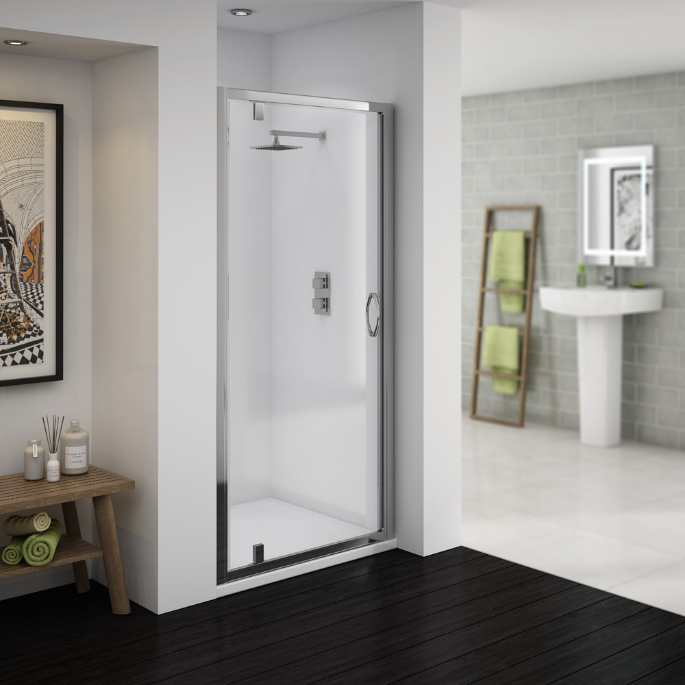 Ventura Pivot Shower Door   Various Sizes Medium Image