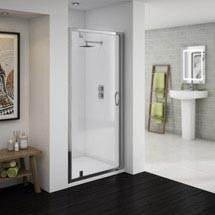 Ventura Pivot Shower Door - Various Sizes Medium Image