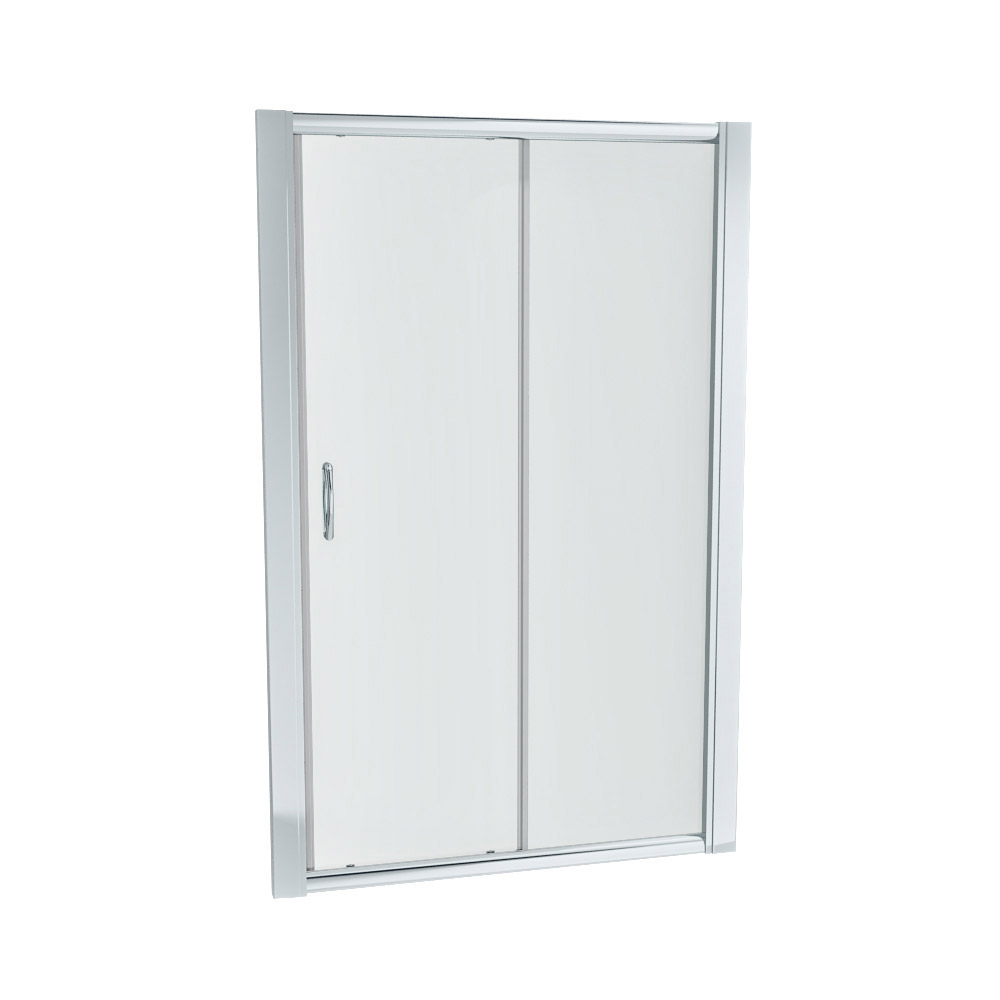 Newark Sliding Shower Door - Various Sizes (Height - 1850mm) profile large image view 2