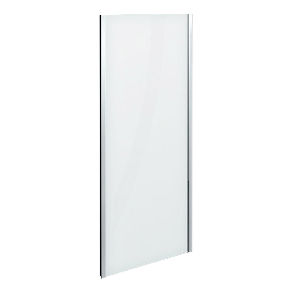 Newark 760 x 760mm Pivot Door Shower Enclosure + Pearlstone Tray profile large image view 3