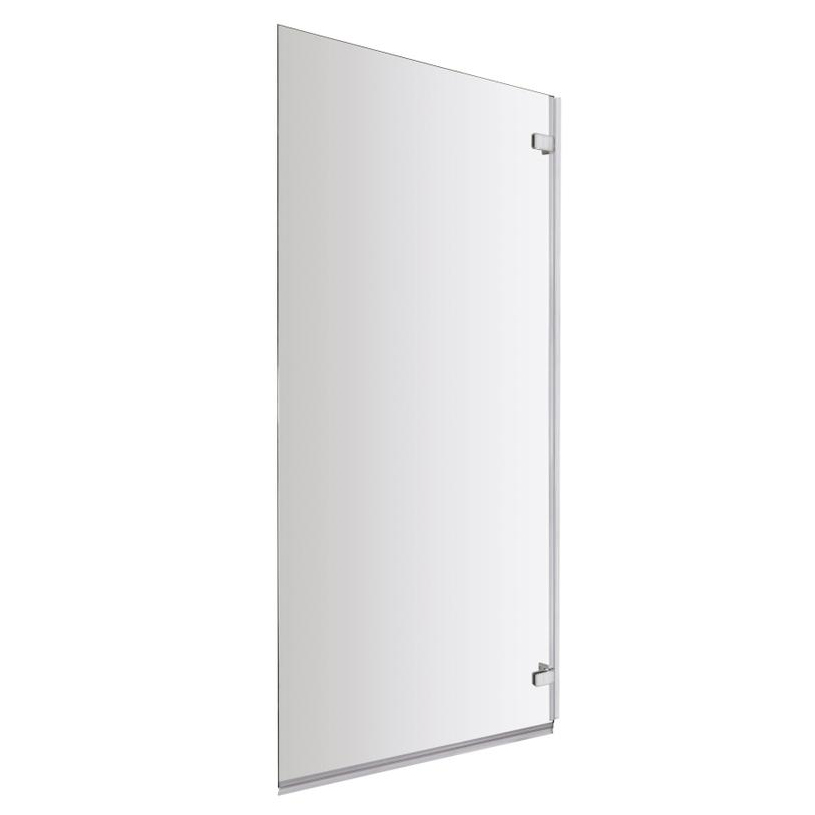 Ventura Hinged Square Bath Screen (780 x 1400mm) Profile Large Image