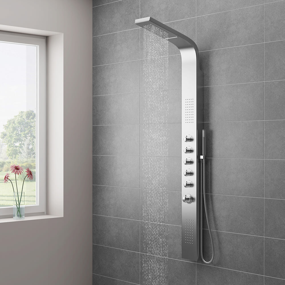 Milan Shower Tower Panel
