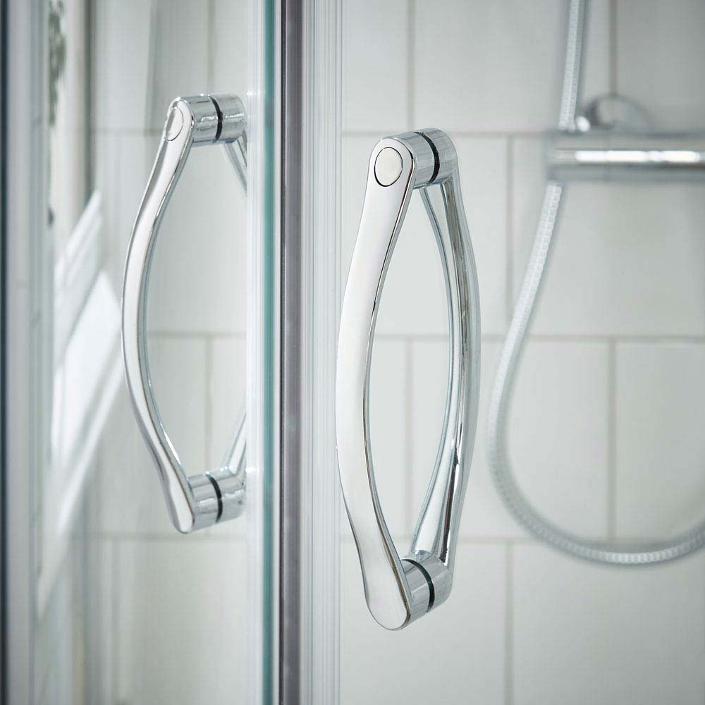 Ventura Offset Quadrant Shower Enclosure Only (Easy Fit - Various Sizes)  Standard Large Image