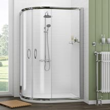 Ventura Offset Quadrant Shower Enclosure Only (Easy Fit - Various Sizes) Medium Image