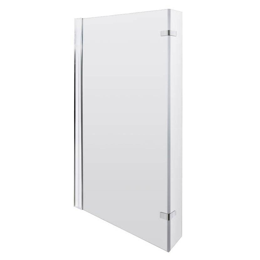 Newark Shower Bath - 1700mm L Shaped with Fixed Screen + Panel profile large image view 3