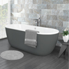 Verona Grey Freestanding Modern Bath profile small image view 1