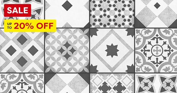 Vibe Patterned Tiles Sale