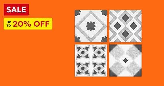 Vibe Patterned Tiles