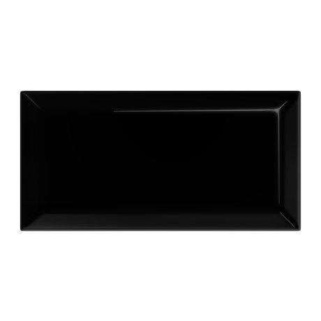 Victoria Mini Metro Wall Tiles - Gloss Black - 15 x 7.5cm (Pack of 60)