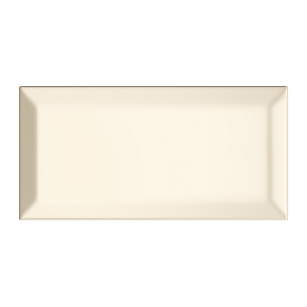 Victoria Metro Wall Tiles - Gloss Cream - 20 x 10cm Large Image
