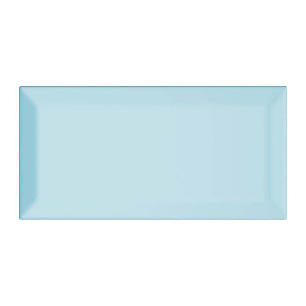 Victoria Metro Wall Tiles - Gloss Sky Blue - 20 x 10cm Large Image