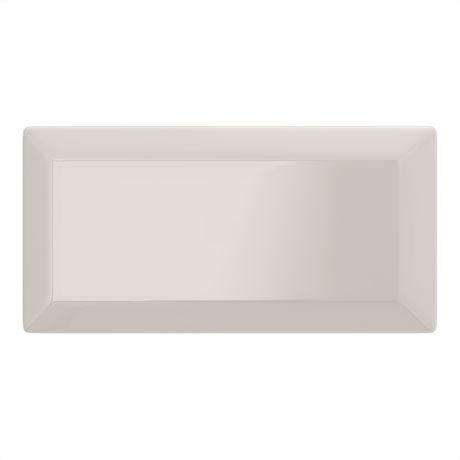 Victoria Metro Wall Tiles - Gloss Almond - 20 x 10cm