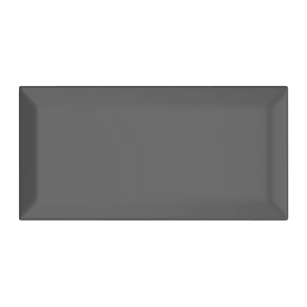 Victoria Metro Wall Tiles - Gloss Grey - 20 x 10cm Large Image