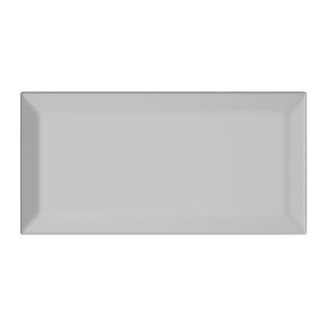 Victoria Metro Wall Tiles - Gloss Light Grey - 20 x 10cm