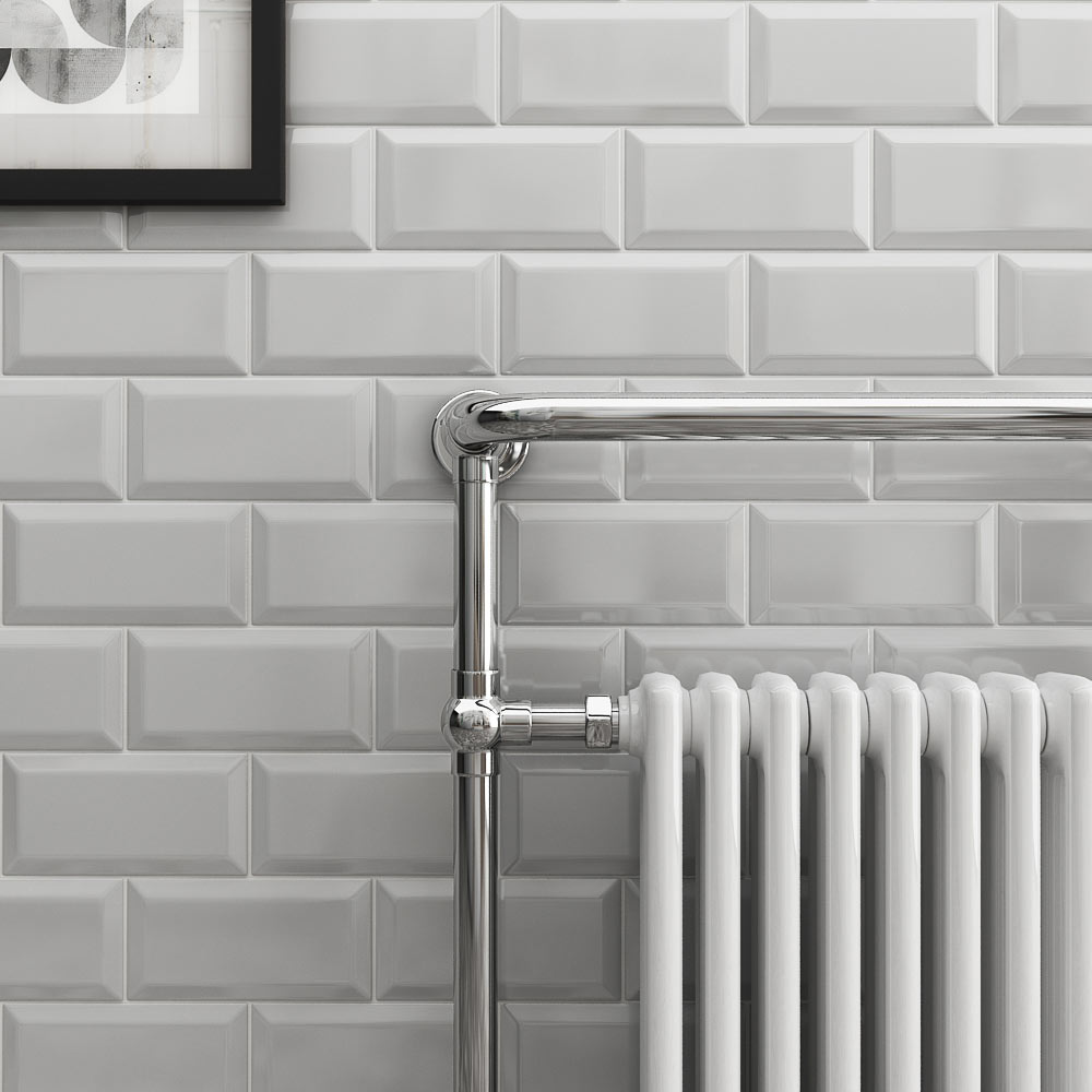 Light Grey Metro Tiles
