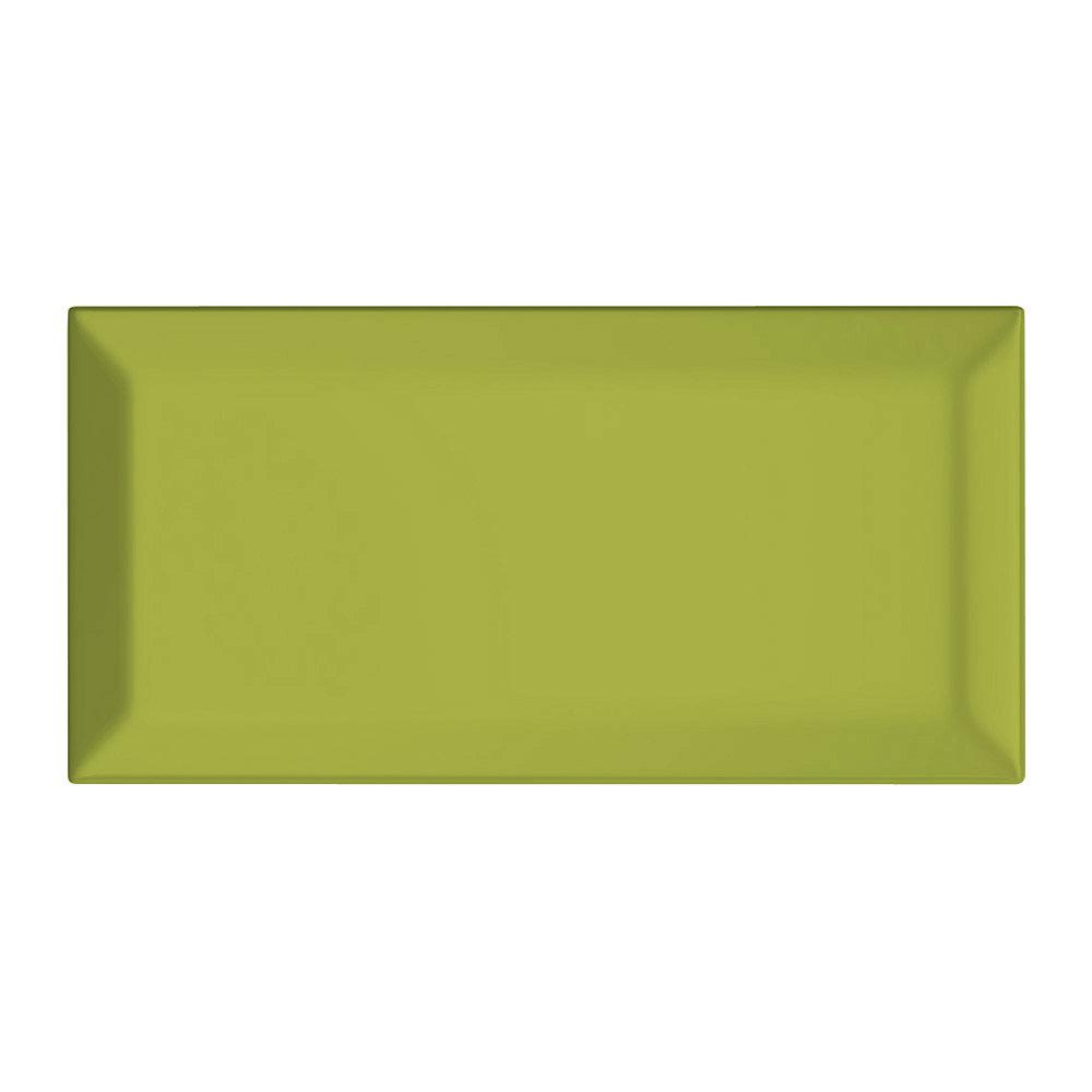 Pistachio Green metro tiles - Victorian Plumbing