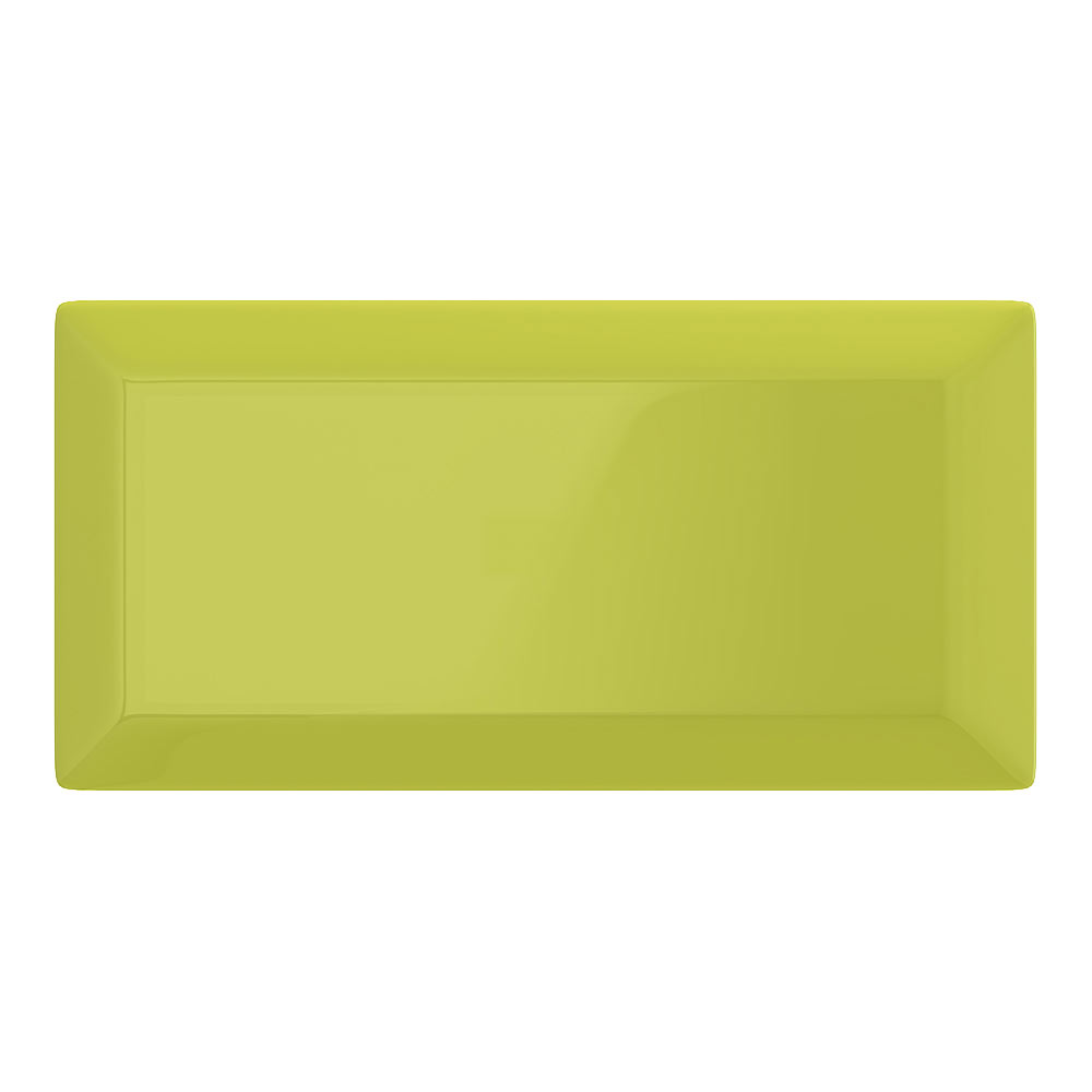 Victoria Metro Wall Tiles - Gloss Pistachio - 20 x 10cm Large Image