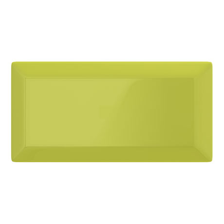 Victoria Metro Wall Tiles - Gloss Pistachio - 20 x 10cm