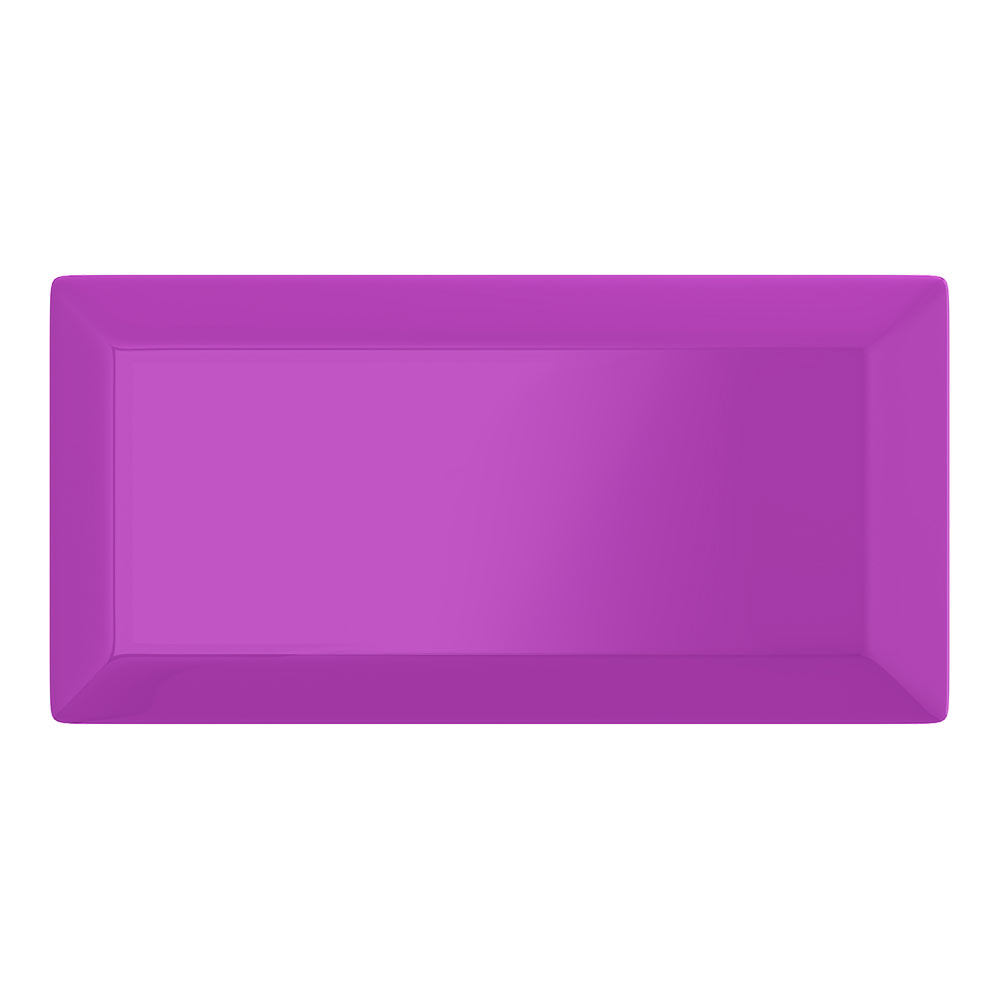 Victoria Metro Wall Tiles - Gloss Purple - 20 x 10cm Large Image