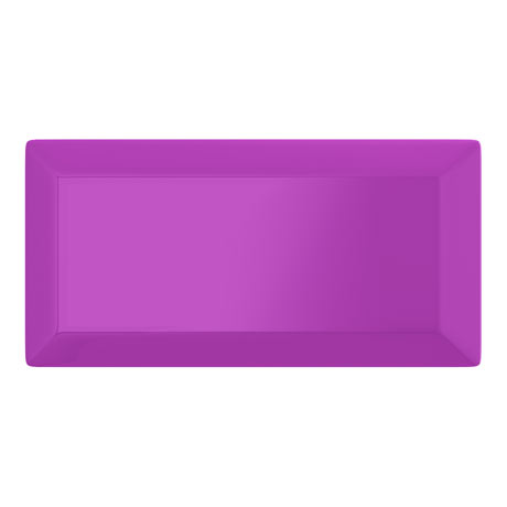 Victoria Metro Wall Tiles - Gloss Purple - 20 x 10cm