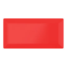 Victoria Metro Wall Tiles - Gloss Red - 20 x 10cm Medium Image