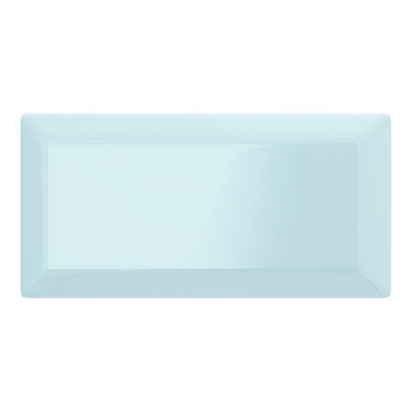Victoria Metro Wall Tiles - Gloss Sky Blue - 20 x 10cm