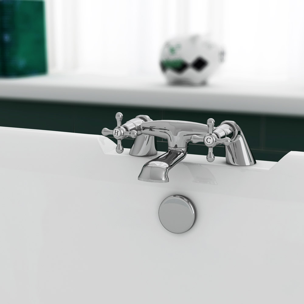Victoria Traditional Bath Filler Tap Profile Large Image
