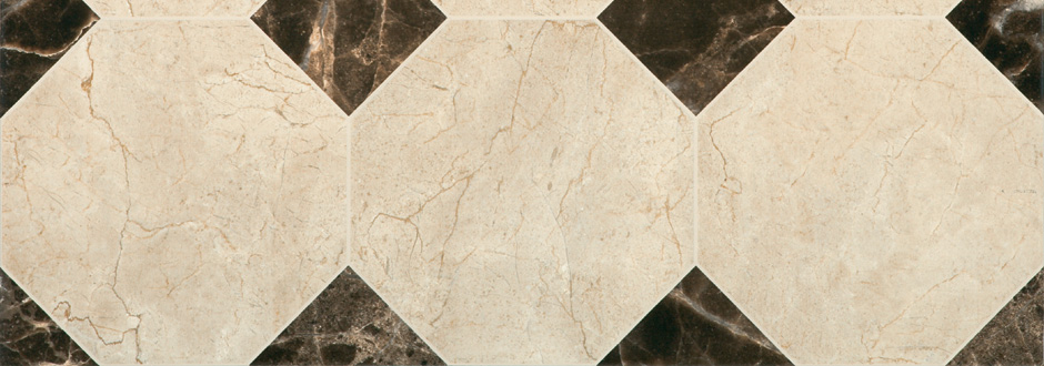 Victorian Chequered Marble