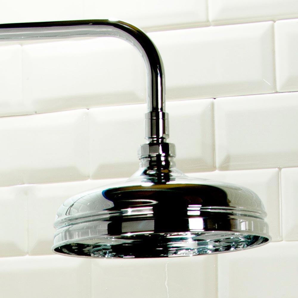 Victorian Grand Rigid Riser Kit Inc. Diverter + Swivel  In Bathroom Large Image