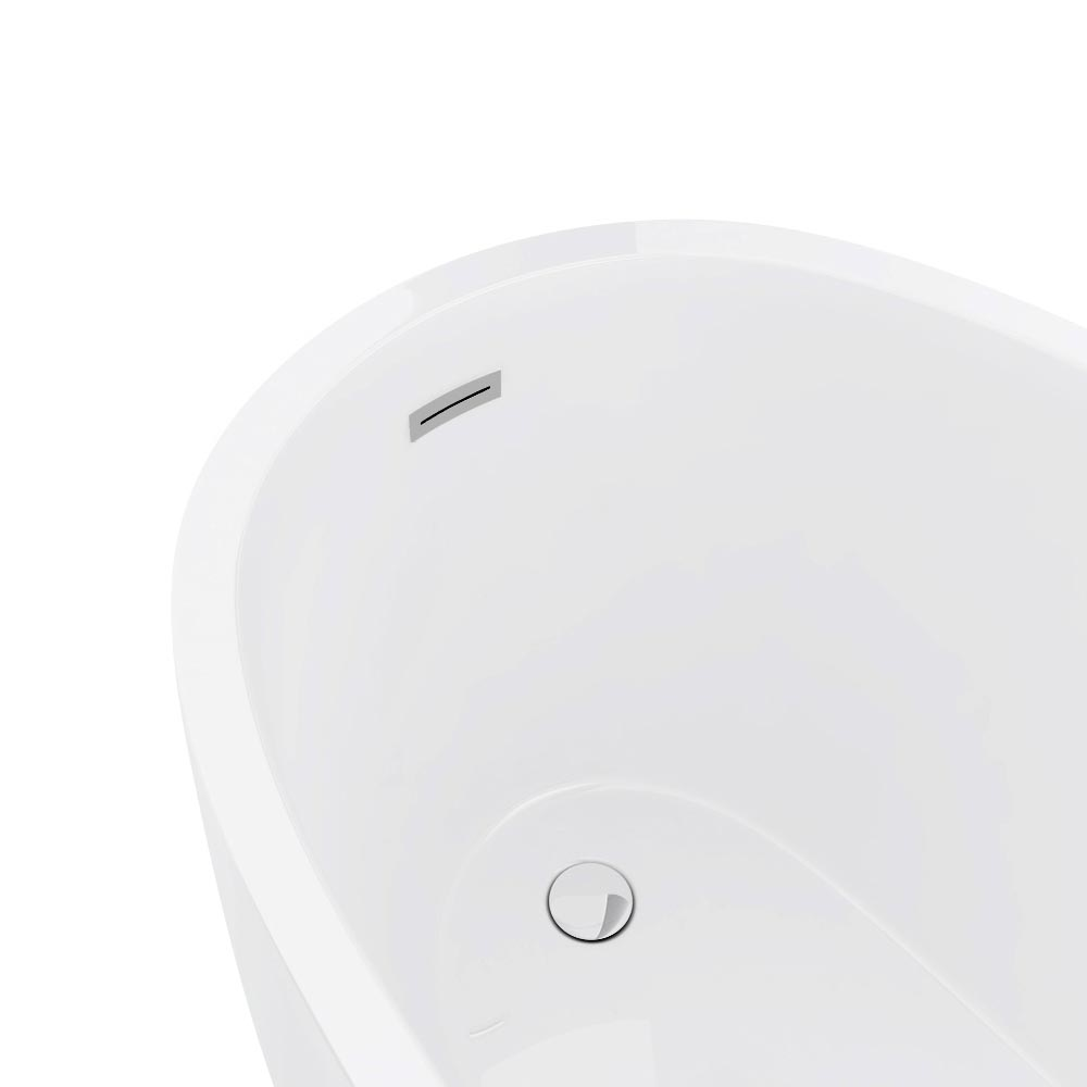 Vienna 1520 Small Modern Slipper Bath Feature Large Image