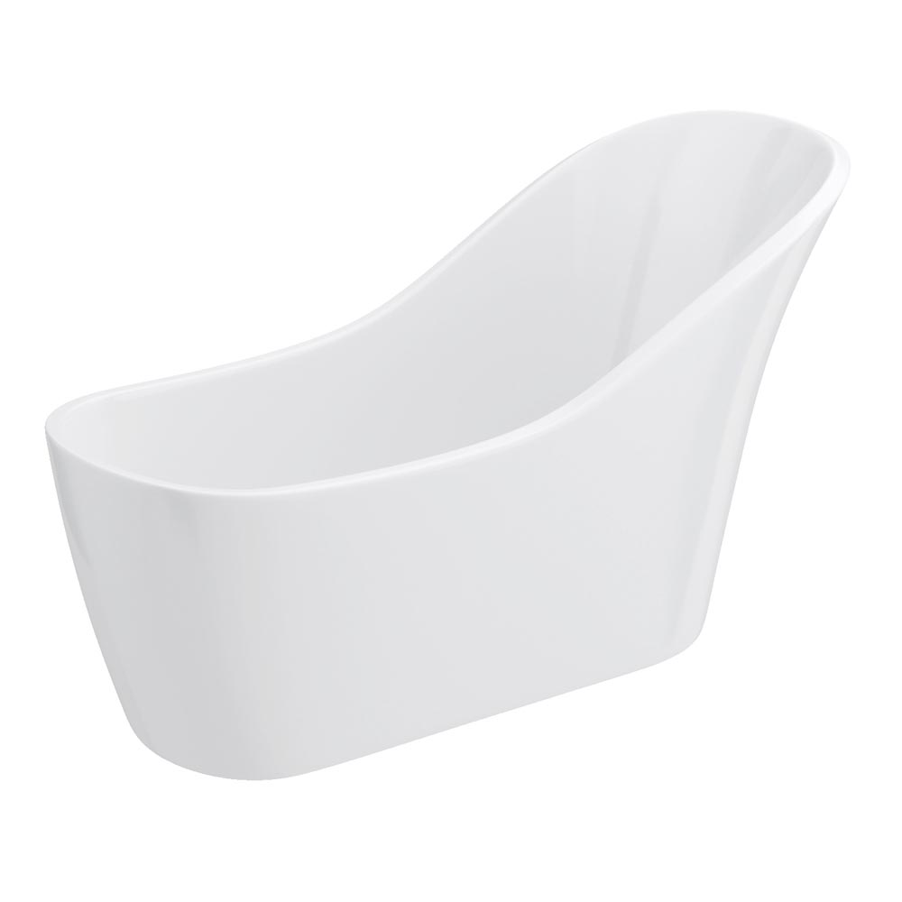 Vienna 1730 Modern Slipper Free Standing Bath profile large image view 3