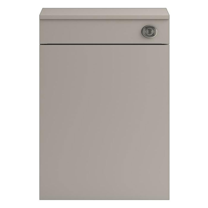 Vienna 500mm Wide WC Unit inc Cistern (Stone Grey - Depth 260mm) Large Image