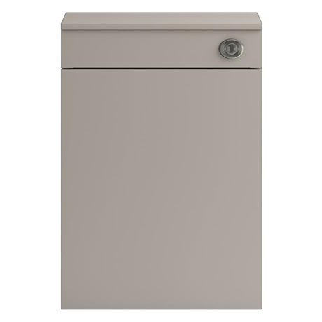 Vienna 500mm Wide WC Unit inc Cistern (Stone Grey - Depth 260mm)