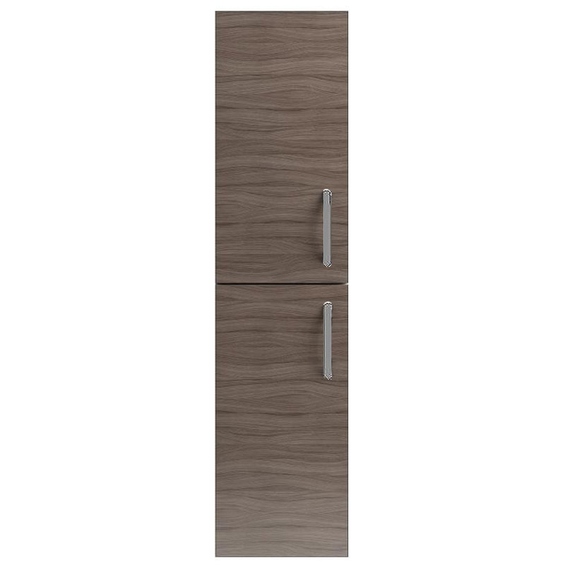 Vienna Double Door Wall Hung Unit (Driftwood - 1435mm High) profile large image view 1