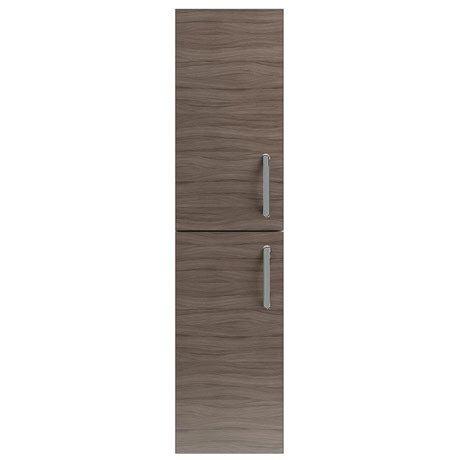 Vienna Double Door Wall Hung Unit (Driftwood - 1435mm High)
