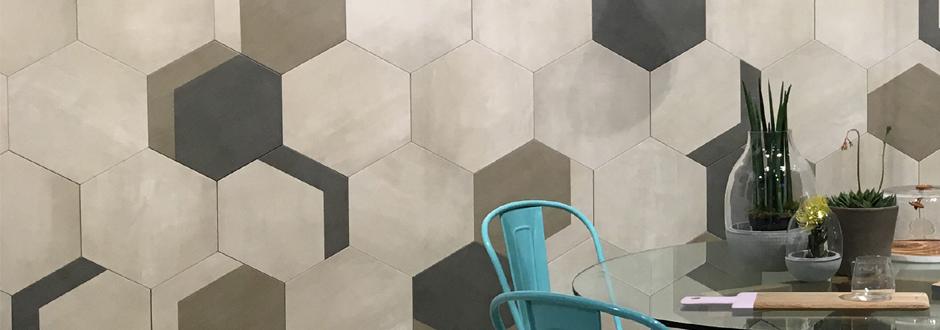 Vista Hexagon Tiles Natural Stone Tile Victorian Plumbing