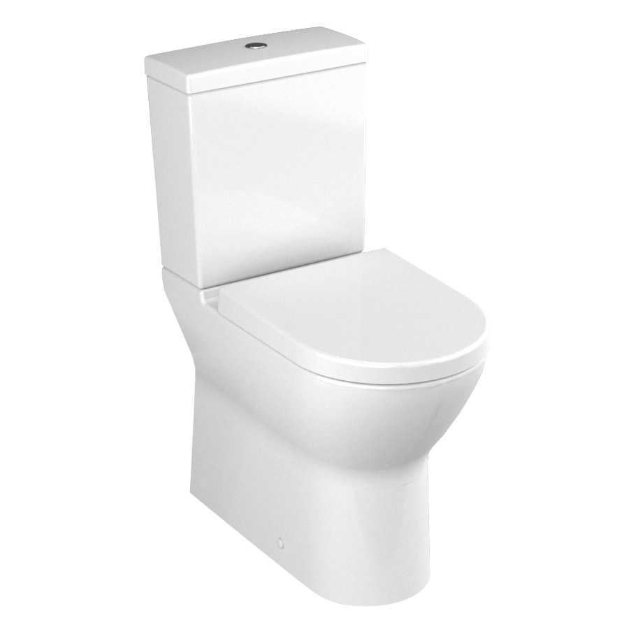 Vitra - S50 Model Comfort Height Close Coupled Toilet (fully back to wall) Large Image