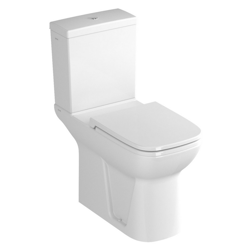 Vitra S20 Comfort Height Toilet (Open Back) & Seat Large Image