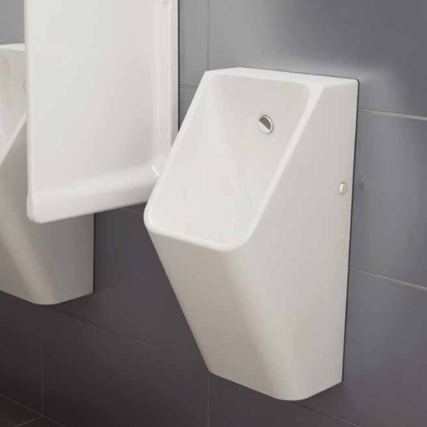 Vitra - S20 Model Syphonic Urinal (back water inlet) - 3 Options Feature Large Image
