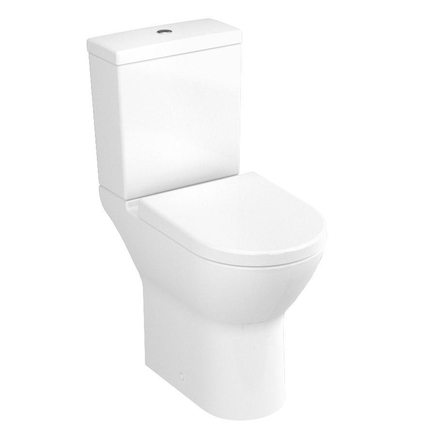 Vitra - S50 Model Comfort Height Close Coupled Toilet (open back) Large Image