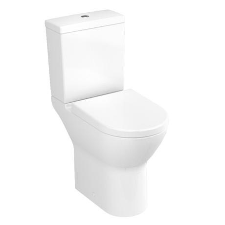 Vitra - S50 Model Comfort Height Close Coupled Toilet (open back)